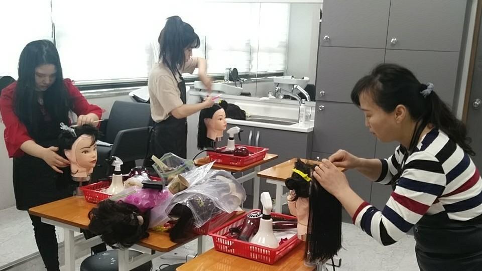 4/20 헤어자격증반 국가시험대비 모의 테스트!